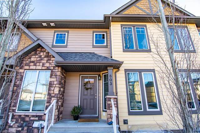30 Carleton Avenue #803, Red Deer, AB T4P 0M8 (#A1080603) :: Redline Real Estate Group Inc