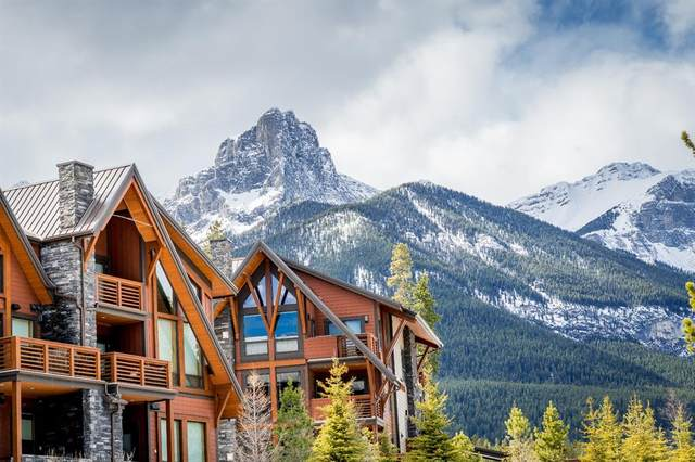 2100A Stewart Creek Drive #302, Canmore, AB T1W 0G3 (#A1080896) :: Canmore & Banff