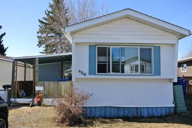 5029 34 Street #420, Red Deer, AB T4N 0P4 (#A1082361) :: Redline Real Estate Group Inc