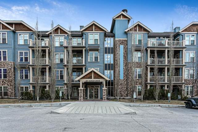 201 Sunset Drive #320, Cochrane, AB T4C 0H5 (#A1082794) :: Western Elite Real Estate Group