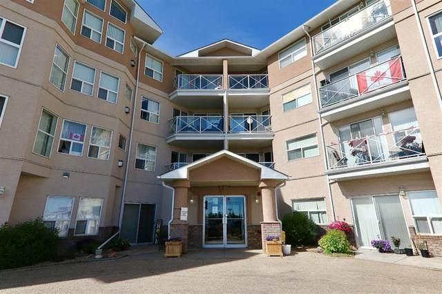 4624 65 Street #408, Camrose, AB  (#A1082915) :: Calgary Homefinders