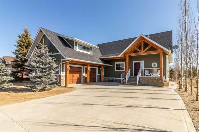 471 Summer Crescent, Rural Ponoka County, AB T4L 2N3 (#A1084745) :: Calgary Homefinders