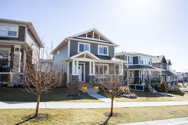 141 Heritage Drive, Cochrane, AB T4C 0Y3 (#A1085279) :: Redline Real Estate Group Inc