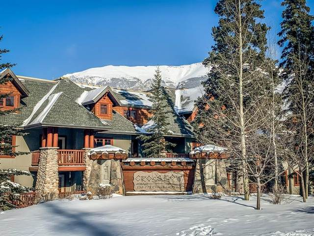 150 Crossbow Place #304, Canmore, AB T1W 3H5 (#A1086136) :: Canmore & Banff