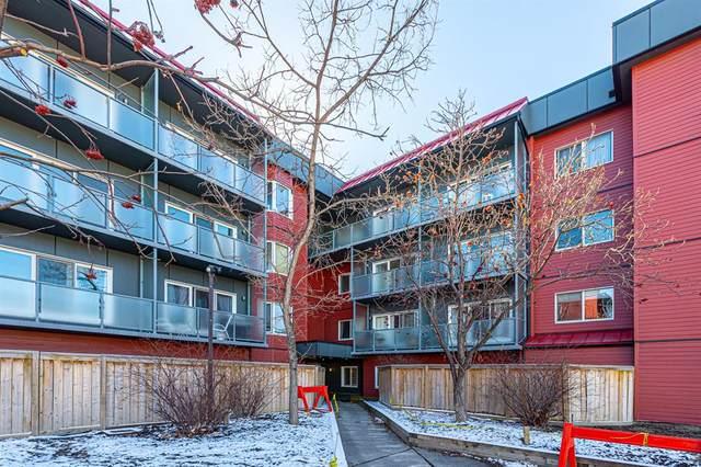 333 Garry Crescent NE #223, Calgary, AB T2K 0S7 (#A1086215) :: Redline Real Estate Group Inc