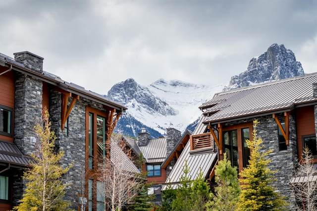 2100B Stewart Creek Drive #201, Canmore, AB T1W 0G3 (#A1086435) :: Canmore & Banff