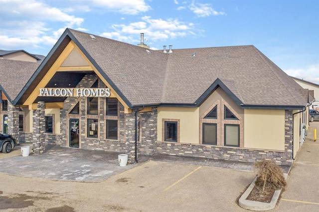 17 Beju Industrial Drive #101, Sylvan Lake, AB T4S 2J4 (#A1088134) :: Calgary Homefinders