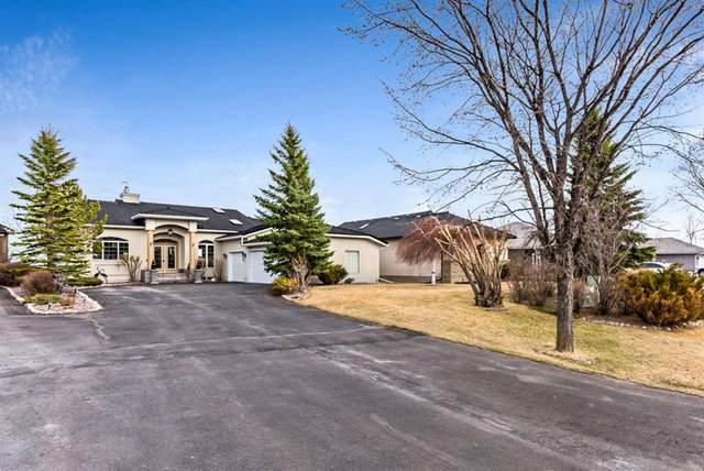 16 Cottonwood Boulevard, Rural Foothills County, AB T0L 0X0 (#A1088530) :: Calgary Homefinders