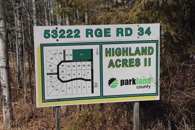 22 , 53222 Range Road 34, Rural Parkland County, AB T7X 3N4 (#A1088607) :: Redline Real Estate Group Inc