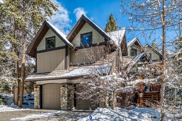 27 Blue Grouse Ridge, Canmore, AB T1W 1L5 (#A1089011) :: Redline Real Estate Group Inc