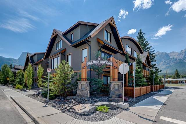 511 6 Avenue #7, Canmore, AB T1W 0K9 (#A1089098) :: Redline Real Estate Group Inc