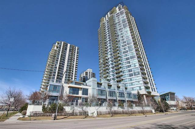 99 Spruce Place SW #504, Calgary, AB T3C 3X7 (#A1089739) :: Redline Real Estate Group Inc