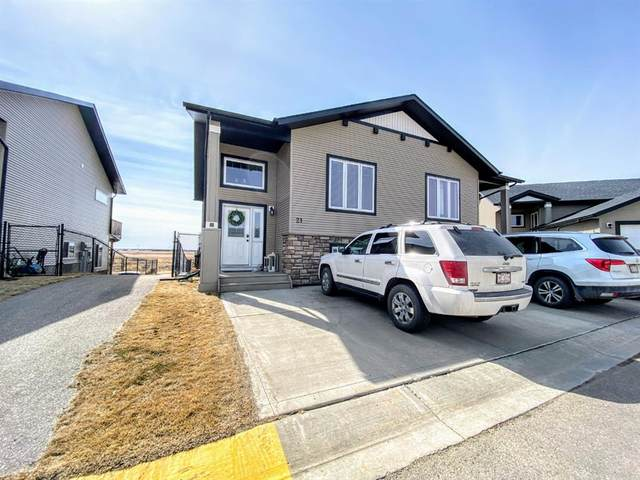 4546 Iron Wolf Place #21, Lacombe, AB T4L 0G1 (#A1089752) :: Calgary Homefinders