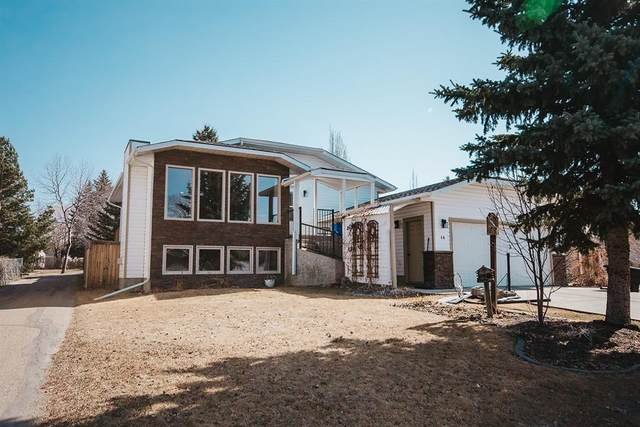 40 Cedar Crescent, Lacombe, AB T4L 1V1 (#A1091040) :: Redline Real Estate Group Inc