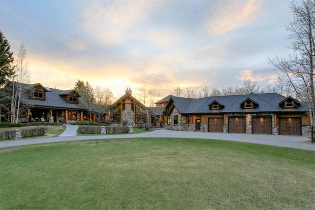 31067 Woodland Heights, Rural Rocky View County, AB T3R 1C6 (#A1091055) :: Calgary Homefinders