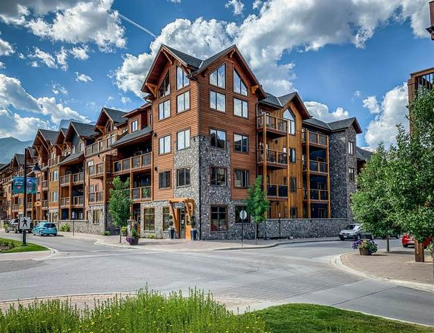 707 Spring Creek Drive #207, Canmore, AB T1W 0K7 (#A1091740) :: Canmore & Banff