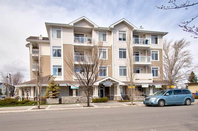 132 1 Avenue NW #304, Airdrie, AB T4B 3H4 (#A1091993) :: Canmore & Banff