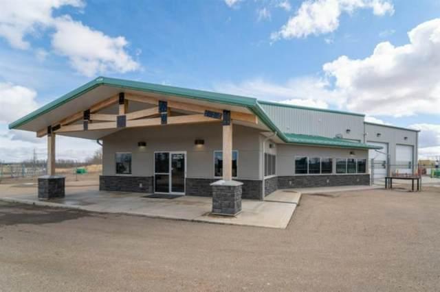 #1 & #9 Charles Industrial Way, Sylvan Lake, AB T4S 2J9 (#A1092296) :: Calgary Homefinders