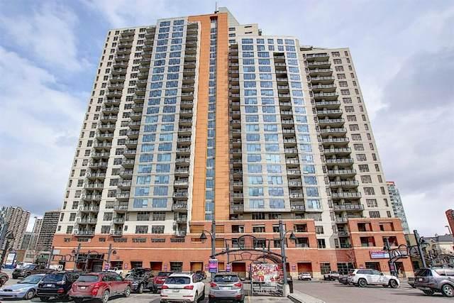 1053 10 Street SW #1004, Calgary, AB T2R 1S6 (#A1092534) :: Dream Homes Calgary
