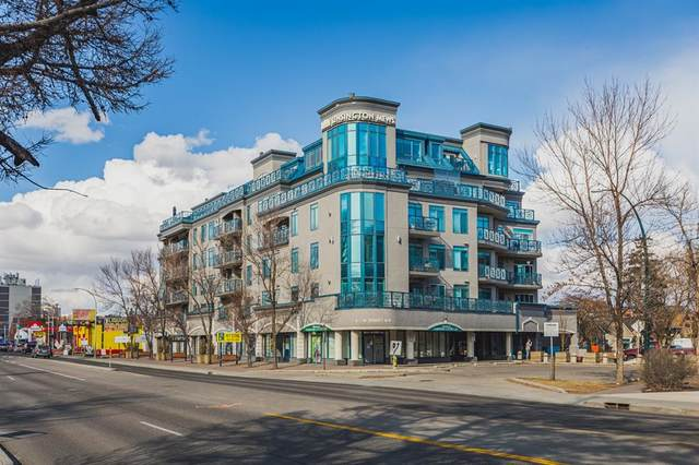 4 14 Street NW #602, Calgary, AB T2N 1Z4 (#A1092569) :: Redline Real Estate Group Inc