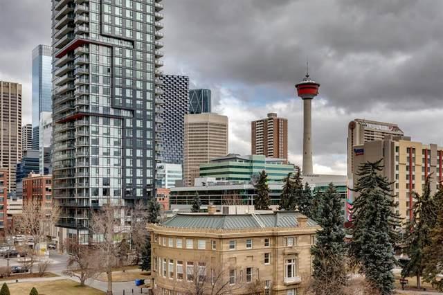 323 13 Avenue SW #602, Calgary, AB T2R 0K3 (#A1092583) :: Dream Homes Calgary