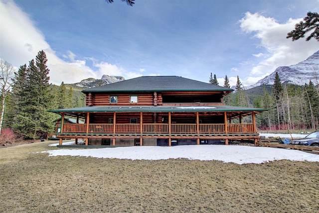 26 Heart Rise, Lac des Arcs, AB T1W 2W3 (#A1092704) :: Canmore & Banff