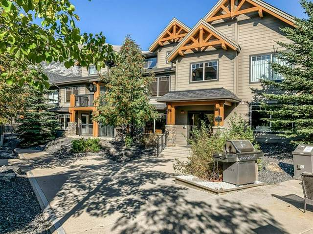 250 2nd Avenue #5202, Dead Man's Flats, AB T1W 2W4 (#A1093247) :: Canmore & Banff
