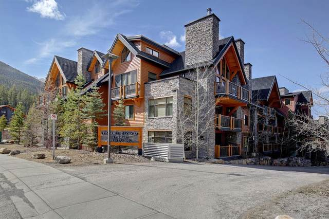 101G Stewart Creek Landing #7306, Canmore, AB T1W 0E3 (#A1093454) :: Canmore & Banff
