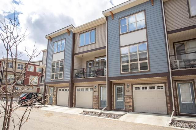 125 Caribou Crescent #603, Red Deer, AB T4P 0V6 (#A1093653) :: Redline Real Estate Group Inc