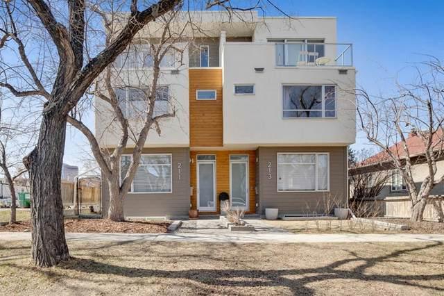 211 8 Street NE, Calgary, AB T2E 4G7 (#A1093823) :: Redline Real Estate Group Inc