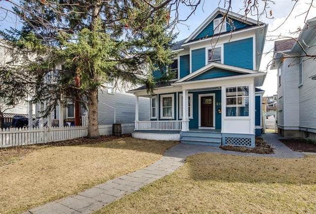 315 21 Avenue SW, Calgary, AB T2S 0G7 (#A1094194) :: Canmore & Banff