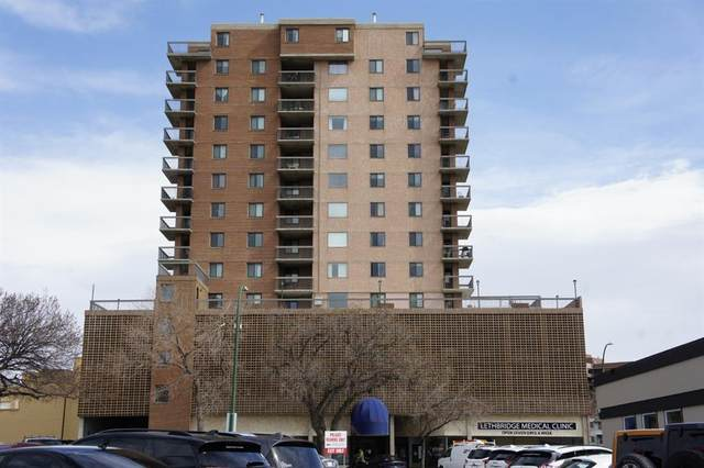 515 6 Street S #303, Lethbridge, AB T1J 4J1 (#A1094261) :: Redline Real Estate Group Inc