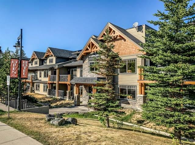 250 2 Avenue #2107, Dead Man's Flats, AB T1W 2W4 (#A1094289) :: Canmore & Banff