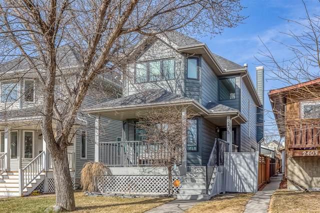 2405 24A Street SW, Calgary, AB T3E 1V9 (#A1094385) :: Redline Real Estate Group Inc