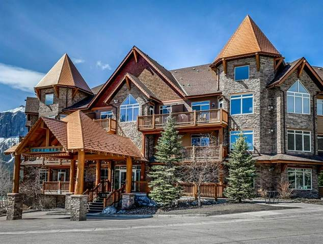 30 Lincoln Park S #302, Canmore, AB T1W 3E9 (#A1094561) :: Canmore & Banff