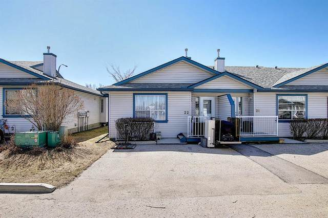 33 Stonegate Drive NW #22, Airdrie, AB T4B 2V9 (#A1094677) :: Calgary Homefinders