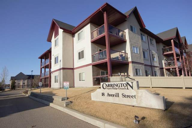 18 Averill Street #109, Red Deer, AB T4R 3J1 (#A1094709) :: Greater Calgary Real Estate