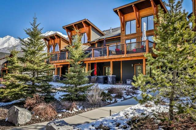 25 Creekside Mews, Canmore, AB T1W 0J4 (#A1094798) :: Canmore & Banff