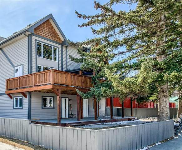 701 4th Street #2, Canmore, AB T1W 2G8 (#A1094833) :: Canmore & Banff