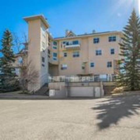6550 Old Banff Coach Road SW #109, Calgary, AB T2Y 3P8 (#A1094925) :: Canmore & Banff