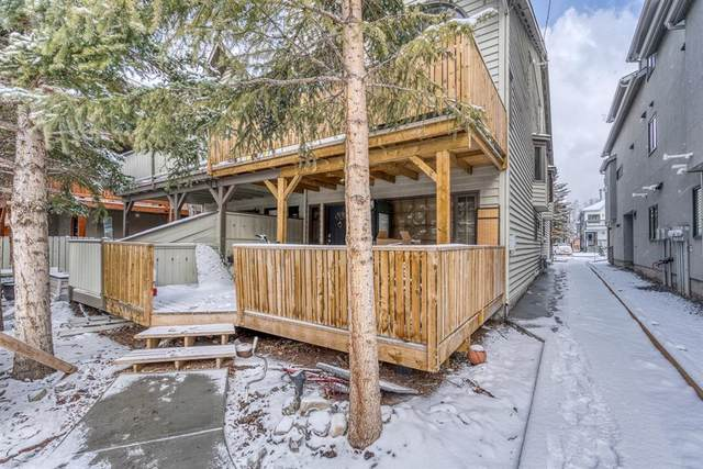 809 5th Street #3, Canmore, AB T1W 2G1 (#A1094942) :: Redline Real Estate Group Inc