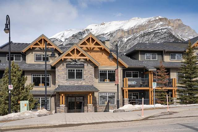 250 2ND Avenue 4107D, Dead Man's Flats, AB T1W 2W4 (#A1095021) :: Canmore & Banff