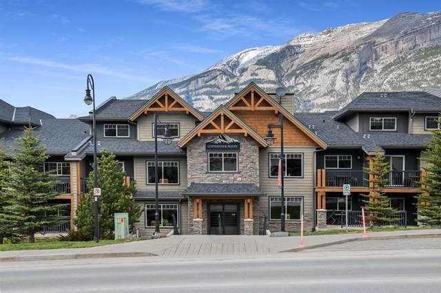 250 2nd Avenue #3206, Dead Man's Flats, AB T1W 2W4 (#A1095491) :: Canmore & Banff