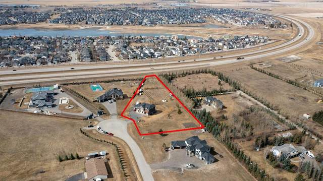 7 Hilltop Cove, Rural Rocky View County, AB T0M 0T0 (#A1095538) :: Calgary Homefinders