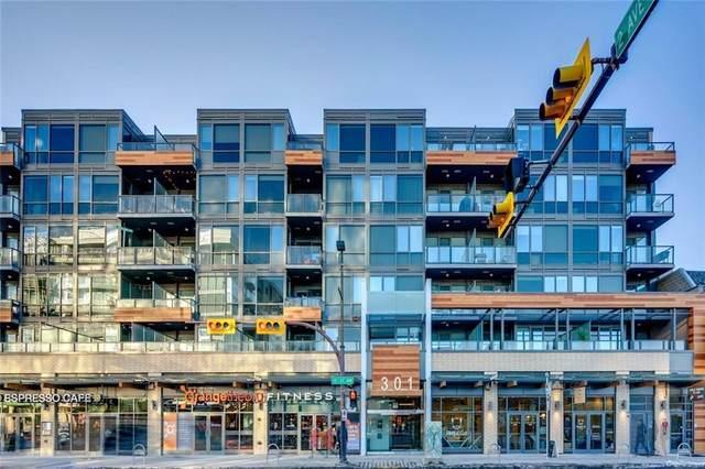 301 10 Street NW #310, Calgary, AB T2N 1V5 (#A1095587) :: Redline Real Estate Group Inc