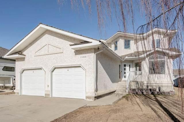 11809 Cygnet Boulevard, Grande Prairie, AB T8X 1L9 (#A1095715) :: Redline Real Estate Group Inc