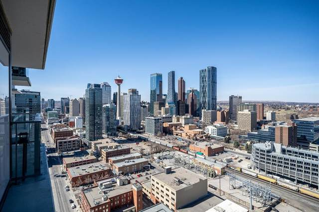 1122 3 Street SE #2702, Calgary, AB T2G 1H7 (#A1095743) :: Canmore & Banff