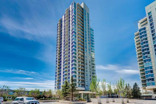 77 Spruce Place SW #1804, Calgary, AB T3C 3X6 (#A1095793) :: Redline Real Estate Group Inc