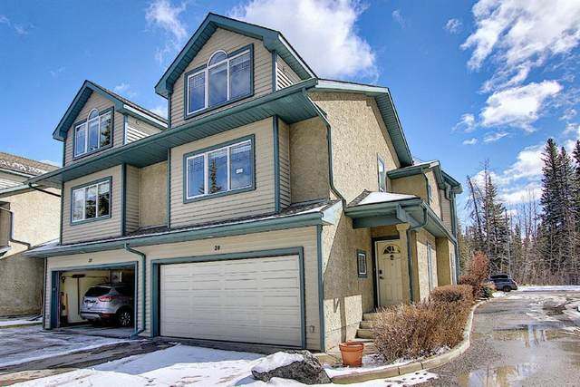 164 Rundle Drive #28, Canmore, AB T1W 2L7 (#A1095820) :: Canmore & Banff