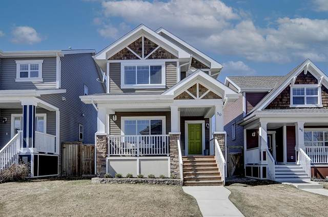 50 River Heights Green, Cochrane, AB T4C 0J7 (#A1096072) :: Western Elite Real Estate Group